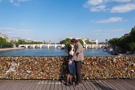 fotos paris ponte des arts