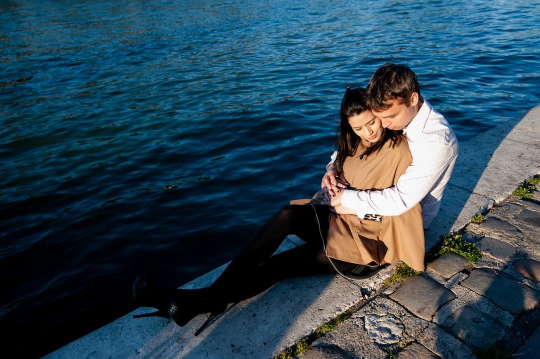fotografia de noivado em paris