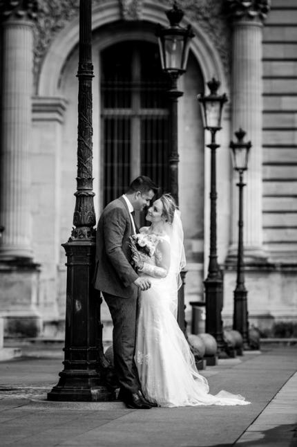 ensaio fotografico de casamento em paris