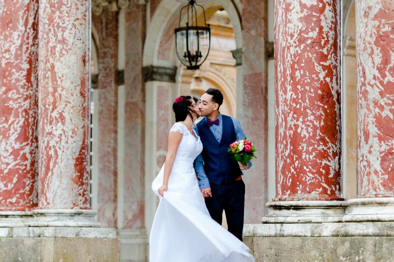 fotos de casamento em versailles - paris