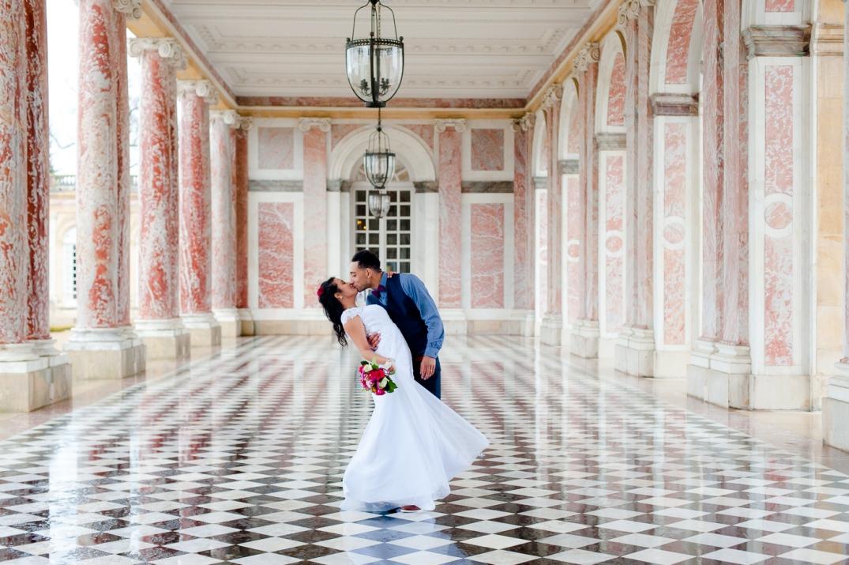 ensaio de fotos de casamento em versailles
