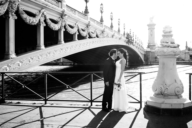 ensaio fotografico noivos em paris