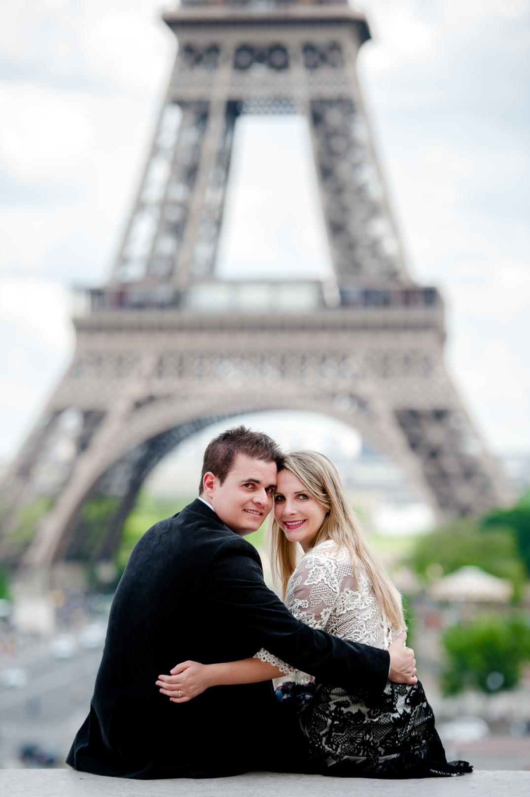 ensaio de fotos romantico em paris