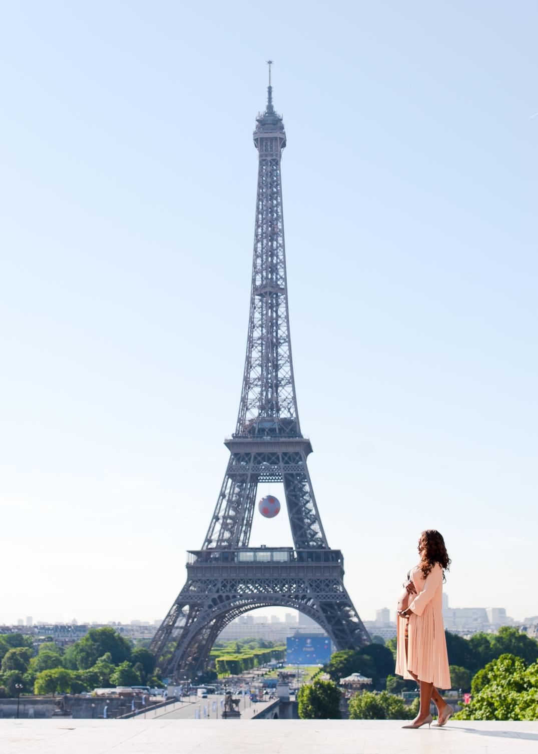 sessao de fotos de gestante em Paris