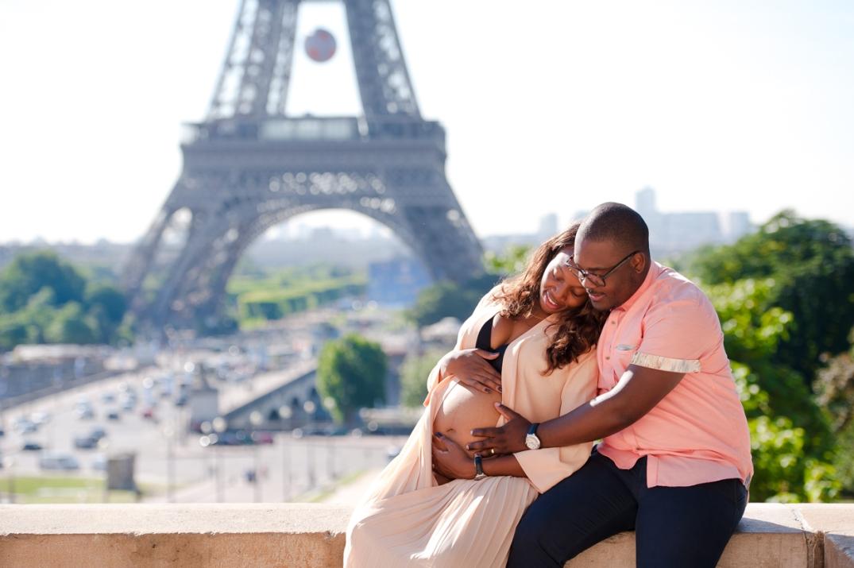 ensaio de fotos de gestante em Paris