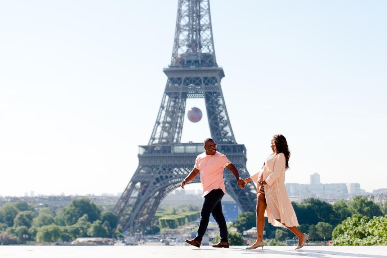 fotos de gestante em Paris