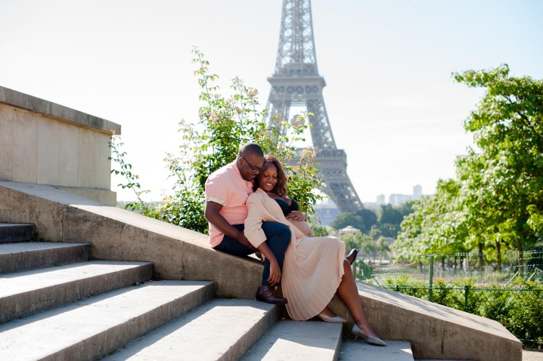 sessao de fotografica de gestante em Paris