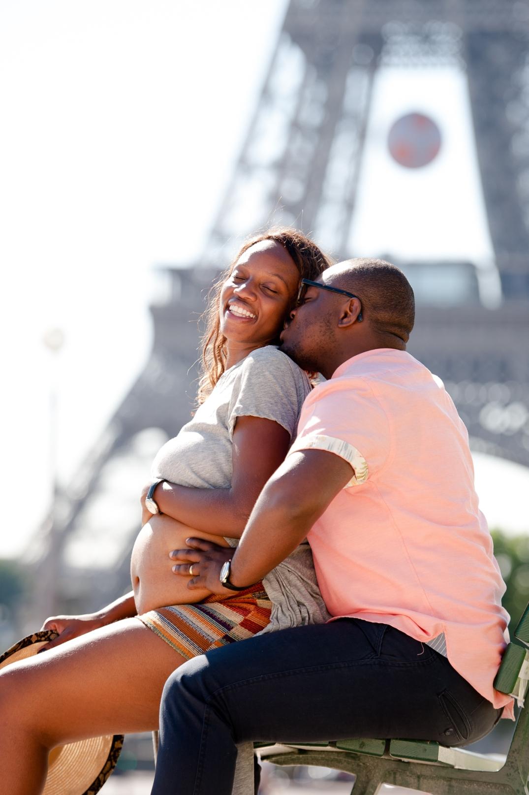 sessao fotografica de gravida em Paris