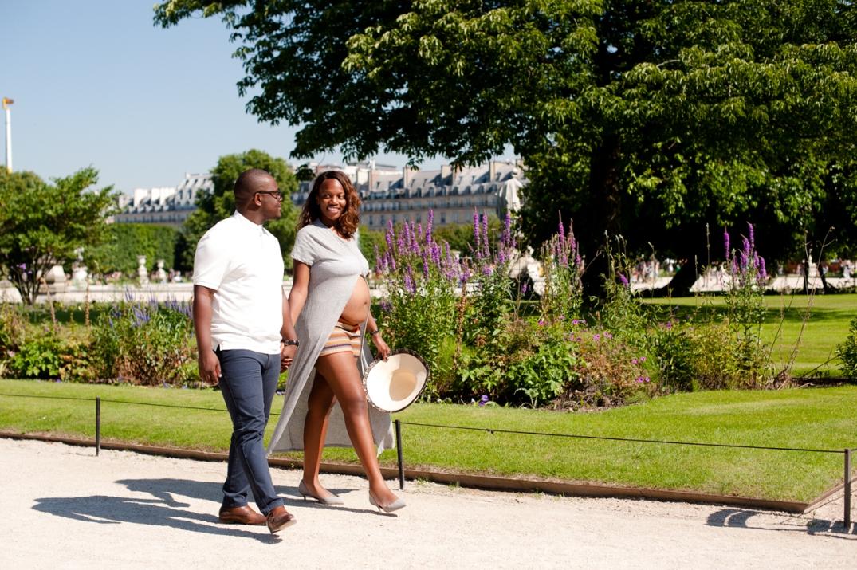 sessao de fotos de gravida em Paris
