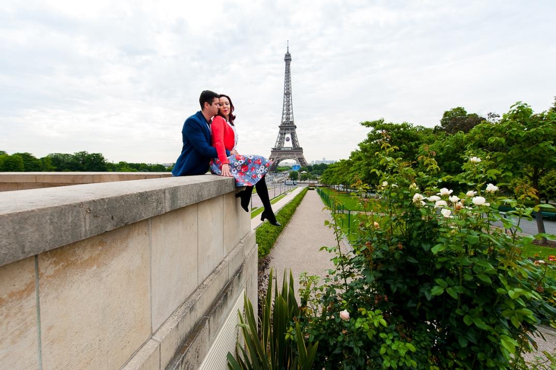 ensaio fotografico romantico em paris