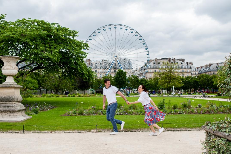 sessao de fotos de casal em paris
