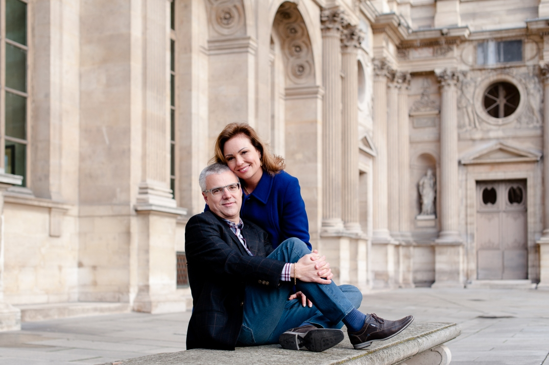ensaio fotografico de casal em paris