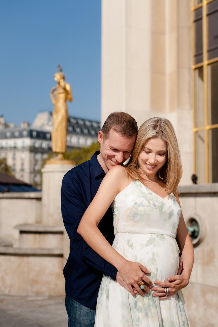 sessao de fotos de grávida em paris