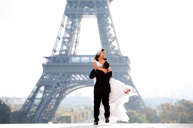 casar na torre eiffel paris