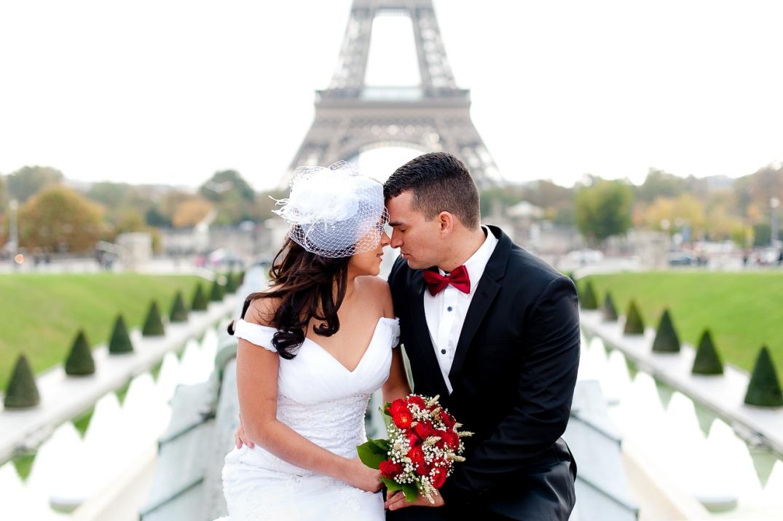 ensaio de casamento em paris