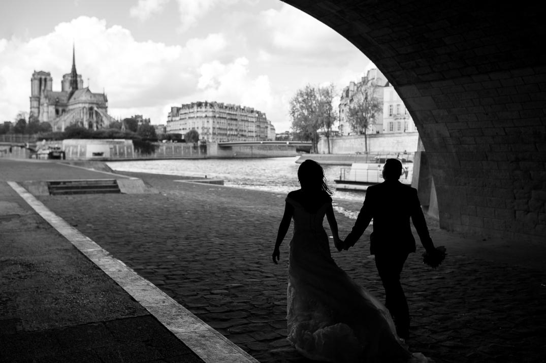 fotos de casamento em paris
