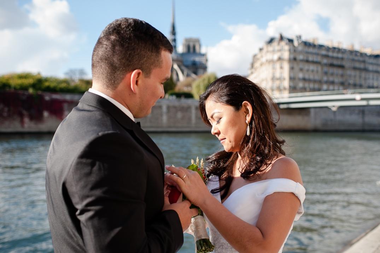 casaram em paris