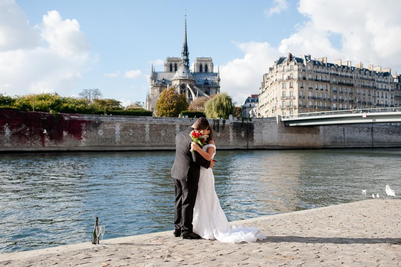casamento intimo em paris