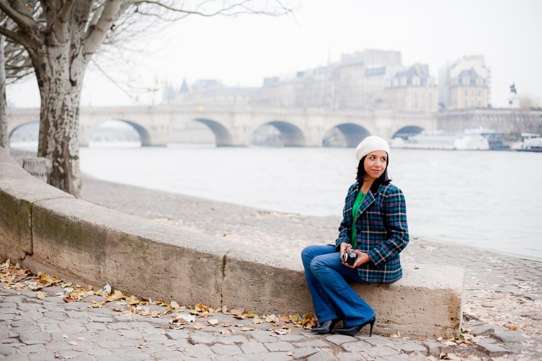Letícia Chevrier em paris