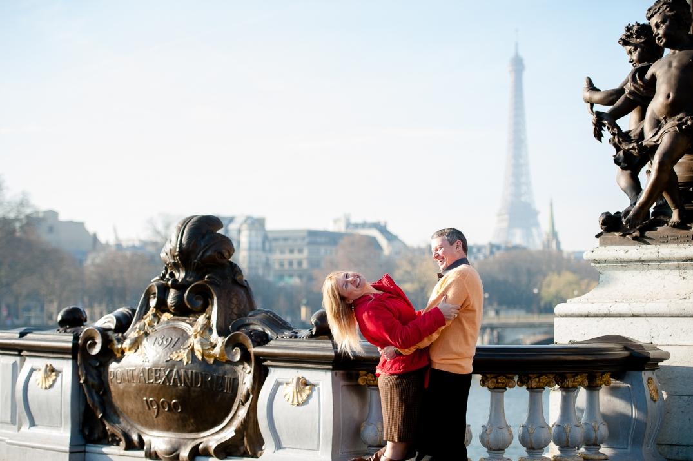 sessao fotografica romantica em paris
