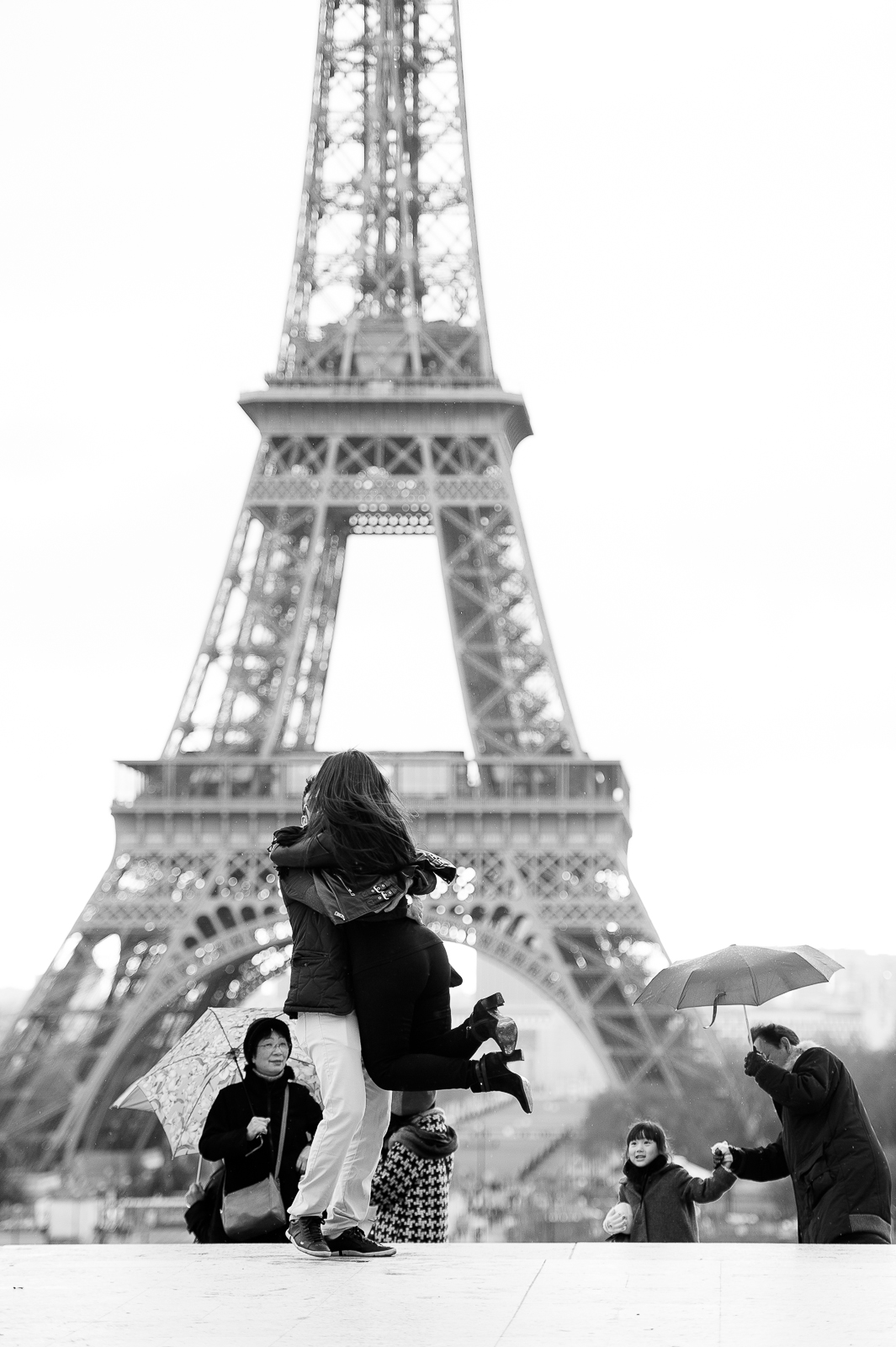 ensaio de fotos torre eiffel pre wedding paris