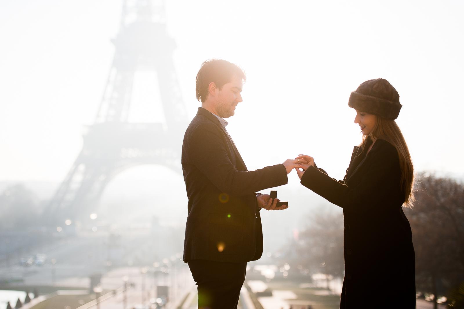 fotografo noivado em paris