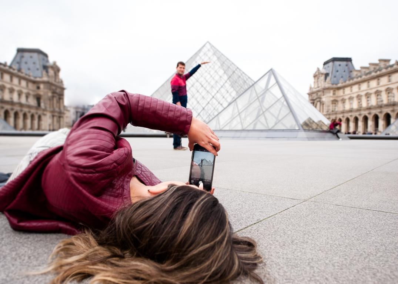 fotografo em paris ensaio fotografico selfie style