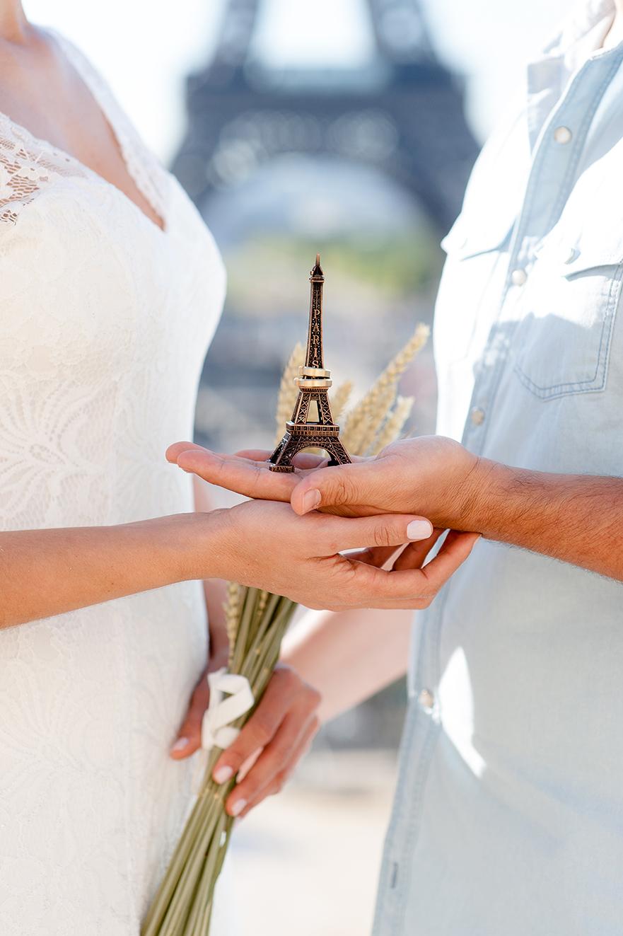 sessão de fotos de casamento em paris