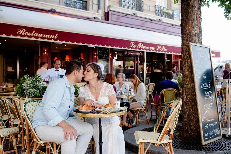 ensaio de fotos de casamento em paris